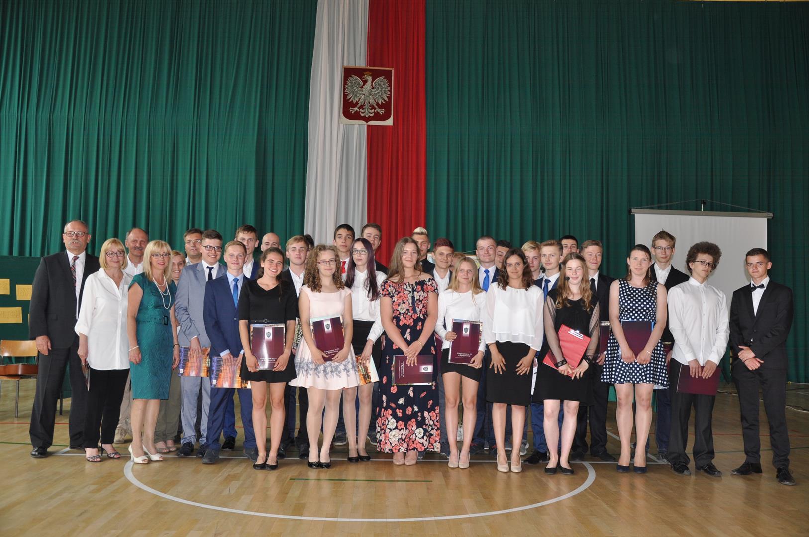 Zakończenie III gimnazjum 53 i 54 2017
